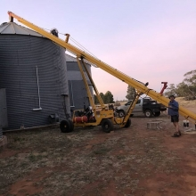 Trainee Rebecca sent us a snapshot of what farming looks like in the Australian Outback! Would you like to experience crop farming Down Under? Request an info package from our website to find out about our opportunities and destination! Photo: Rebecca Kit