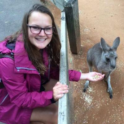 Fiona - participant to Australia